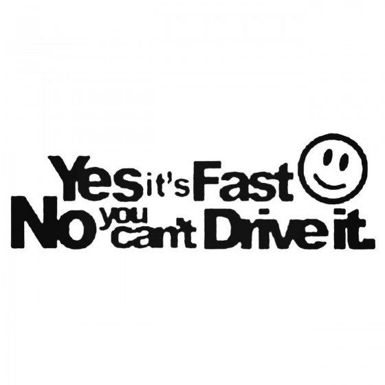 Yes It039s Fast No You...