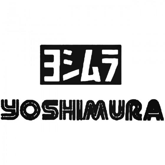 Yoshimura Vinyl Decal