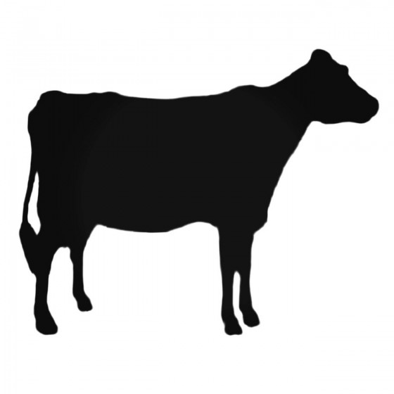Young Cow Decal Sticker