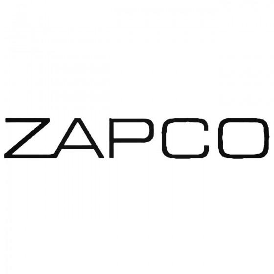 Zapco Audio Decal Sticker