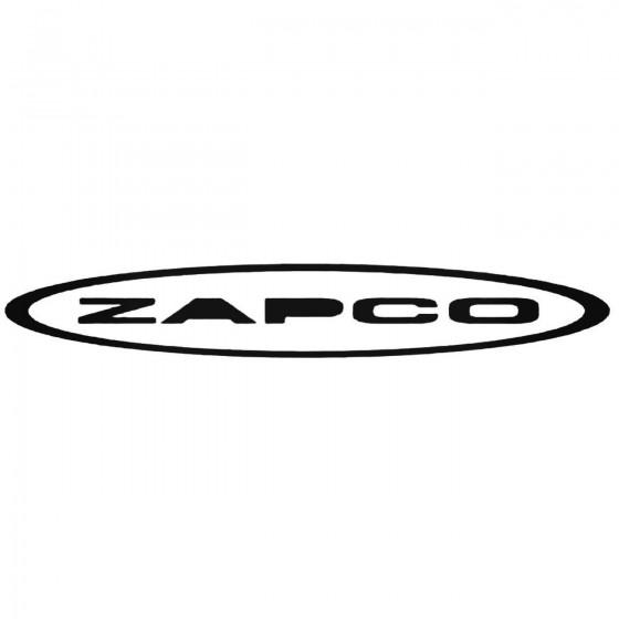 Zapco Graphic Decal Sticker