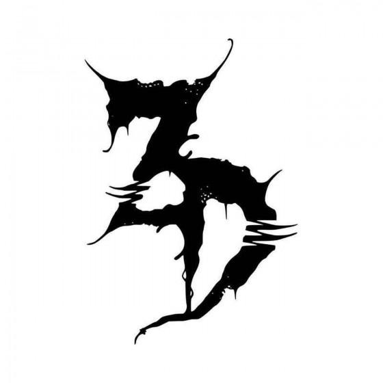 Zeds Dead Logo Vinyl Decal...