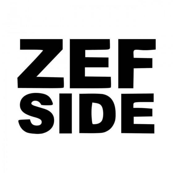 Zef Side Of White T Vinyl...