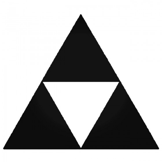 Zelda Triforce Basic Decal...