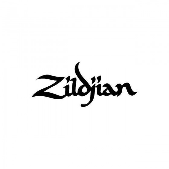 Zildjian Vinyl Decal Sticker