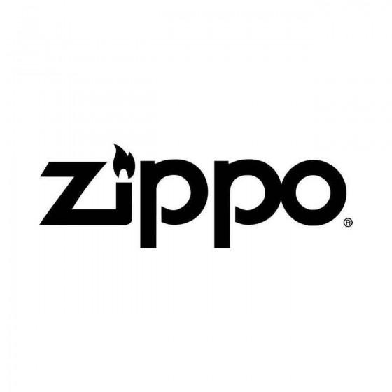 Zippo Vinyl Decal Sticker