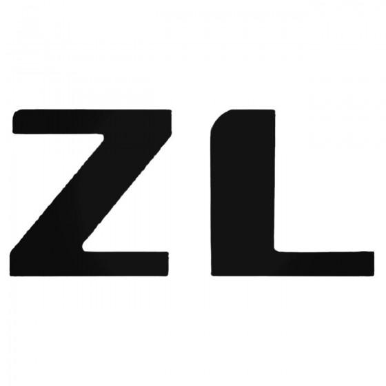 Zl Decal Sticker