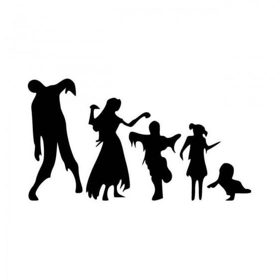 Zombie Family Zombie Vinyl...