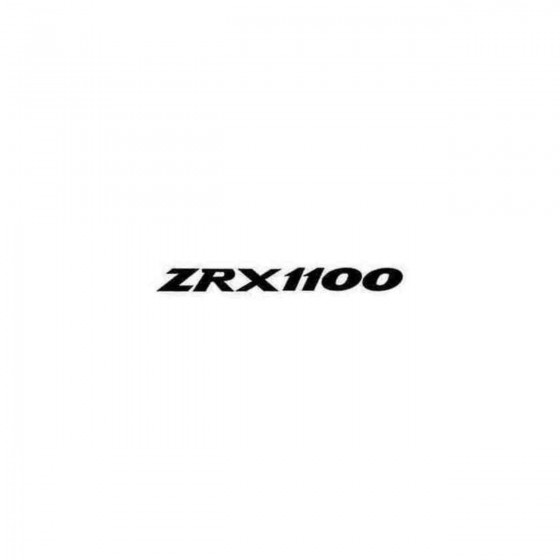 Zrx1100 Decal Sticker