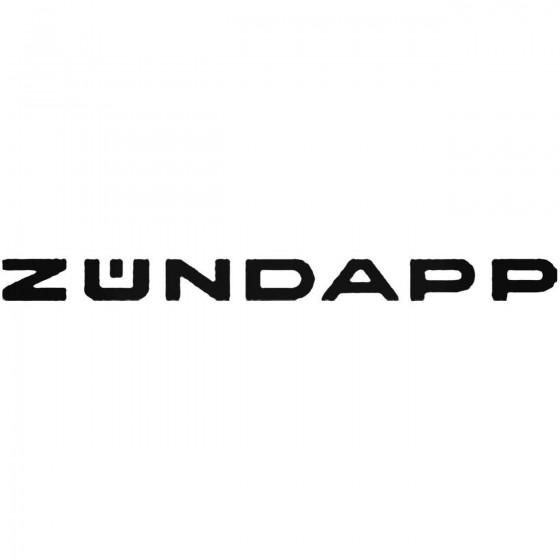 Zundapp Vinyl Decal