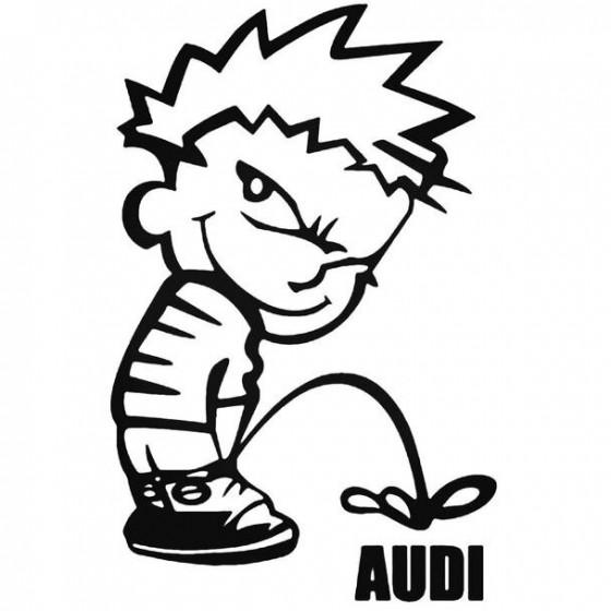 Calvin Pisses Audi Humorous...