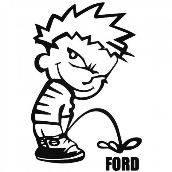 Calvin Pisses Ford Humorous...