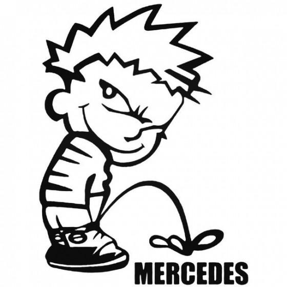 Calvin Pisses Mercedes...