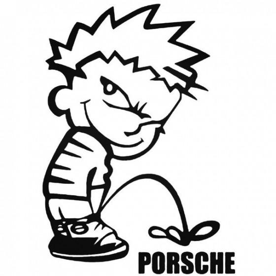 Calvin Pisses Porsche...