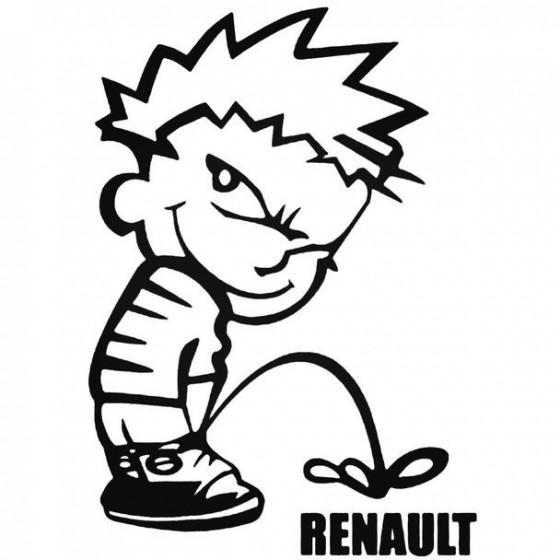 Calvin Pisses Renault...