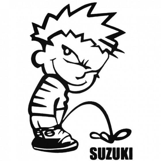 Calvin Pisses Suzuki...