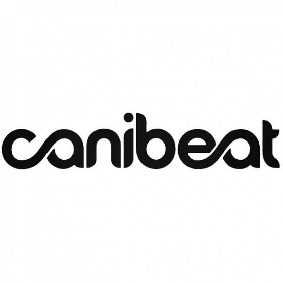 Canibeat Decal Sticker