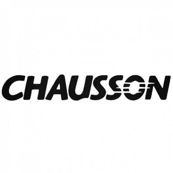 Chausson Sticker
