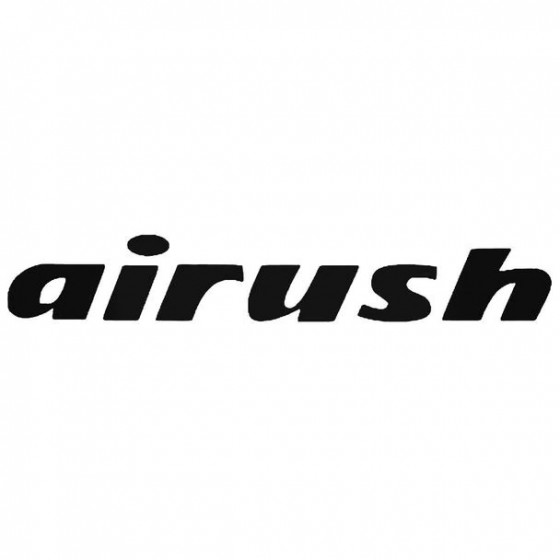 Airush Text Slanted Surfing...