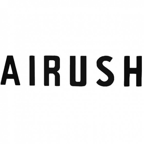 Airush Text Surfing Decal...