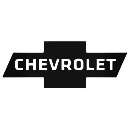 Chevrolet 1 Decal Sticker