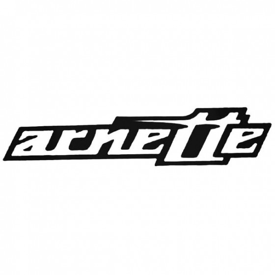 Arnette Surfing Decal Sticker