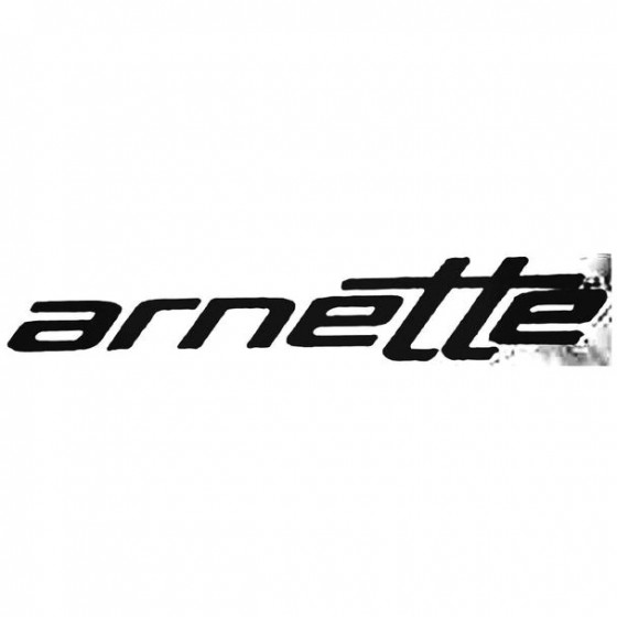 Arnette Text Surfing Decal...