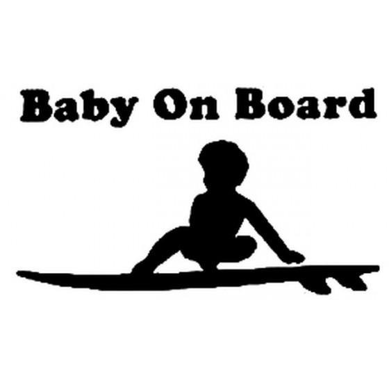 Baby On Board Surfboard...