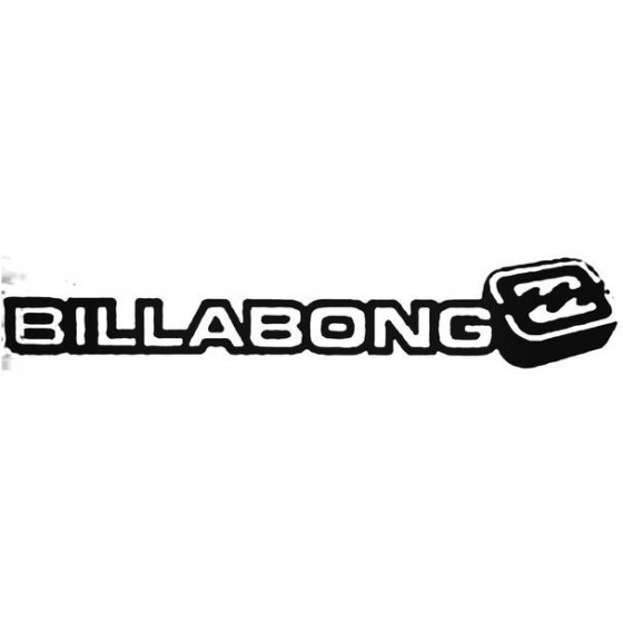 Billabong 3d Surfing Decal...