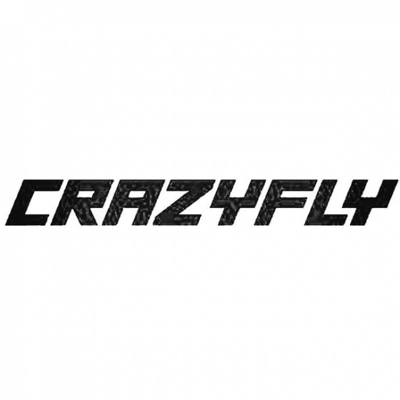 Crazyfly Text Surfing Decal...