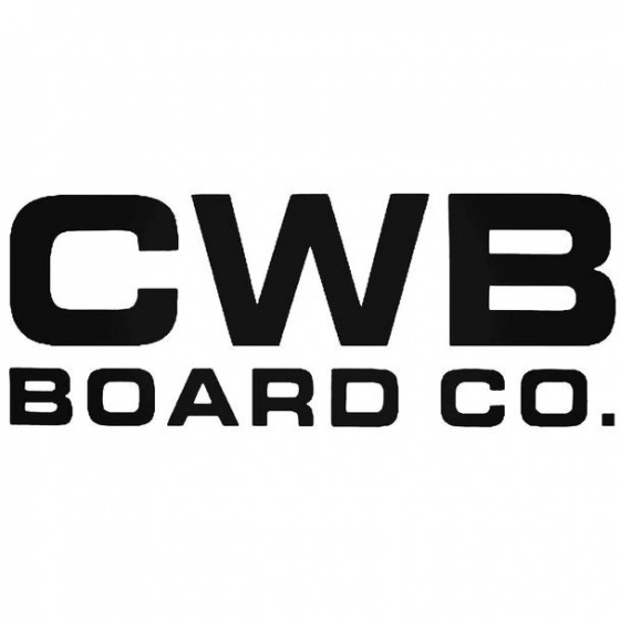 Cwb Board Co Surfing Decal...