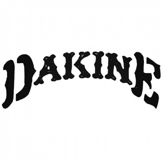 Dakine Curved Surfing Decal...