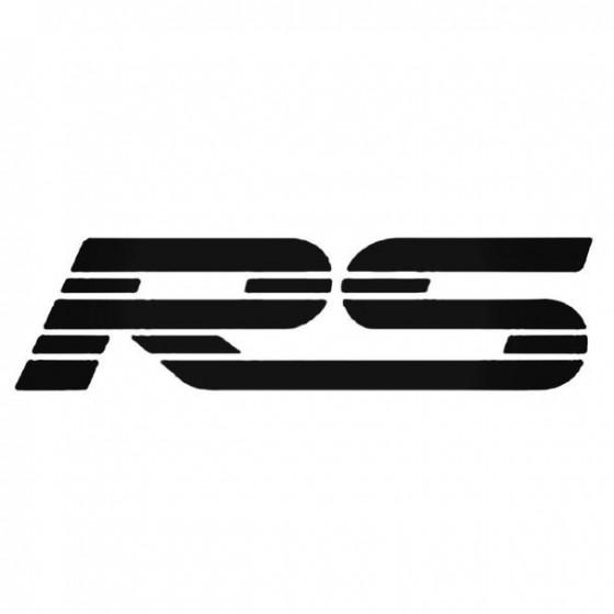 Chevrolet Rs Sticker