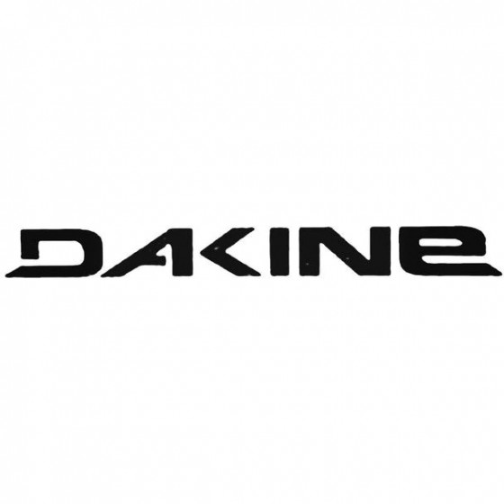 Dakine Text Surfing Decal...