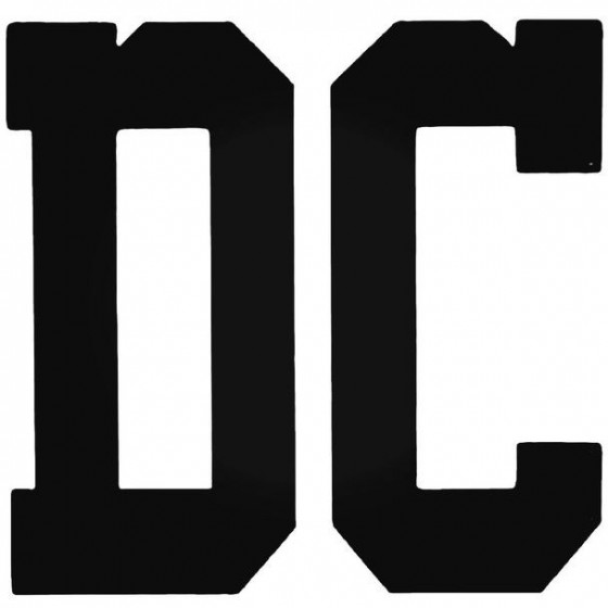 Dc College Surfing Decal...