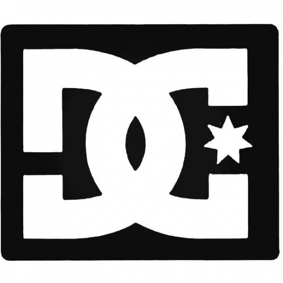 Dc Square Surfing Decal...
