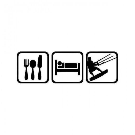 Eat Sleep Kitesurfing Surf...