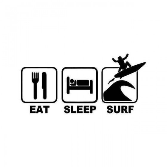 Eat Sleep Surf Vinyl...