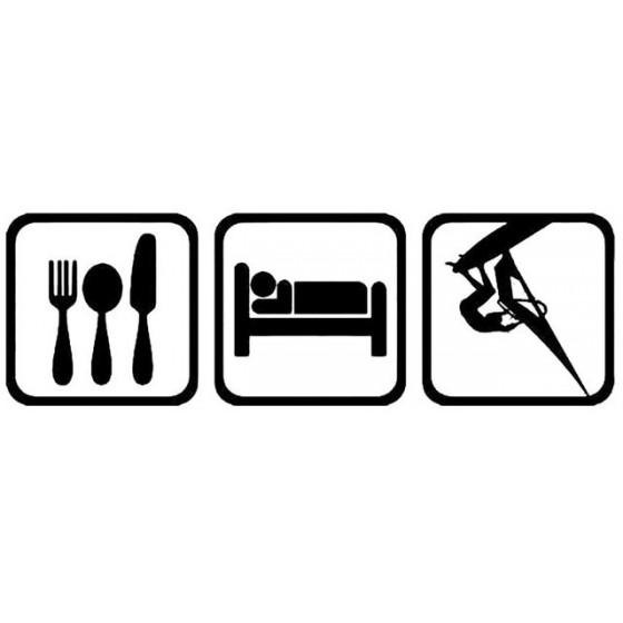 Eat Sleep Windsurf Vinyl...