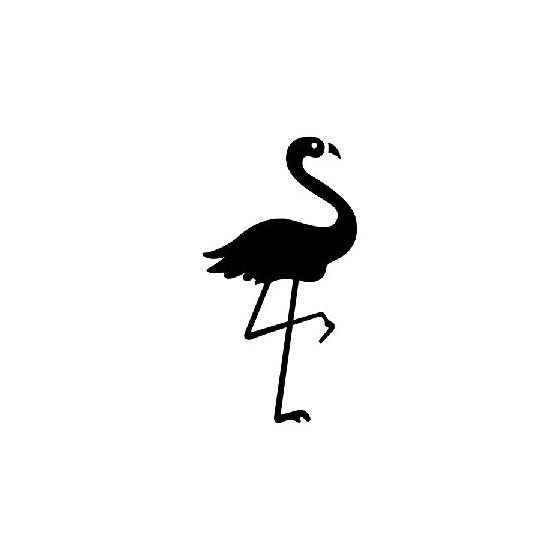 Flamingo Die Cut Vinyl Decal