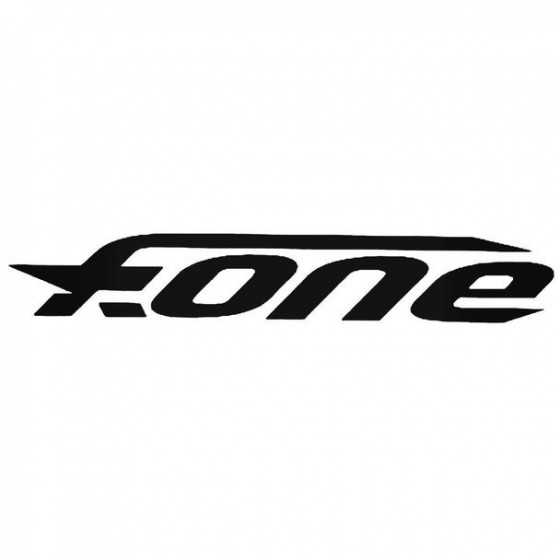 F One Text Surfing Decal...