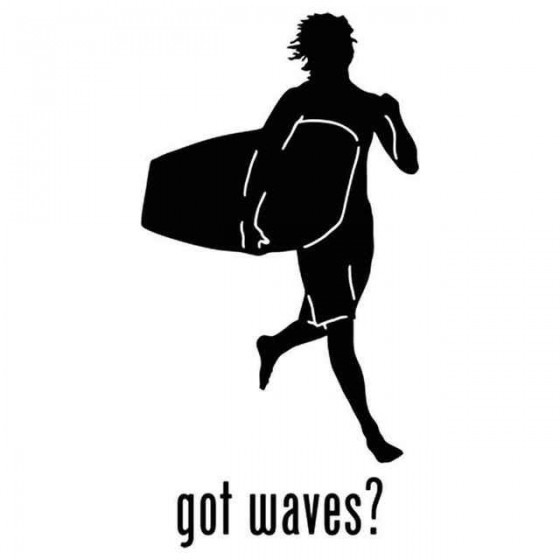 Got Waves Surfing Vinyl...