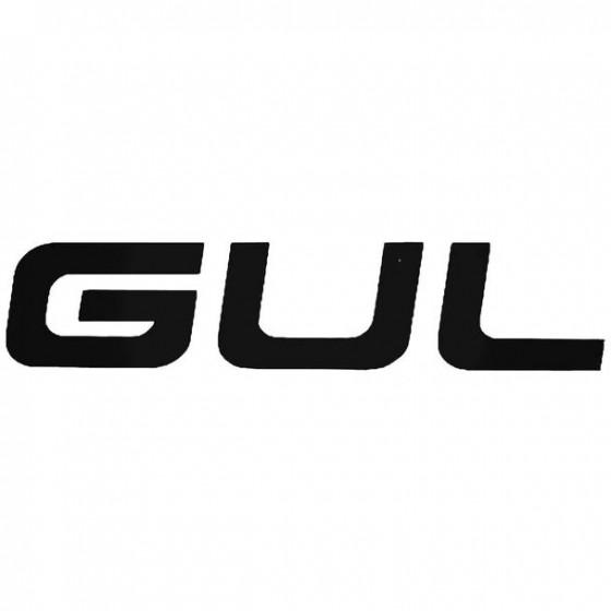 Gul Text Surfing Decal Sticker