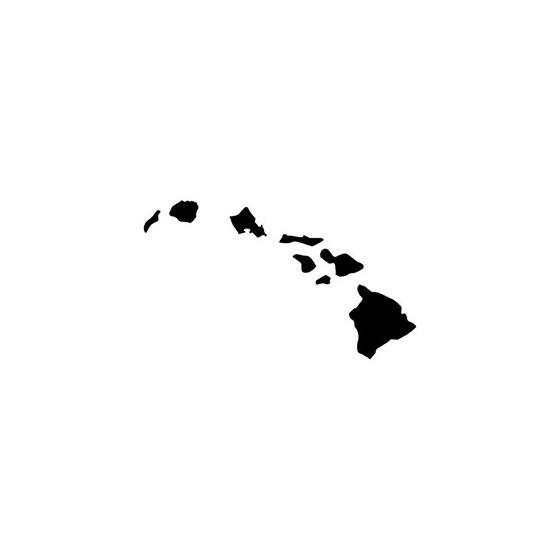 Hawaii Die Cut Vinyl Decal