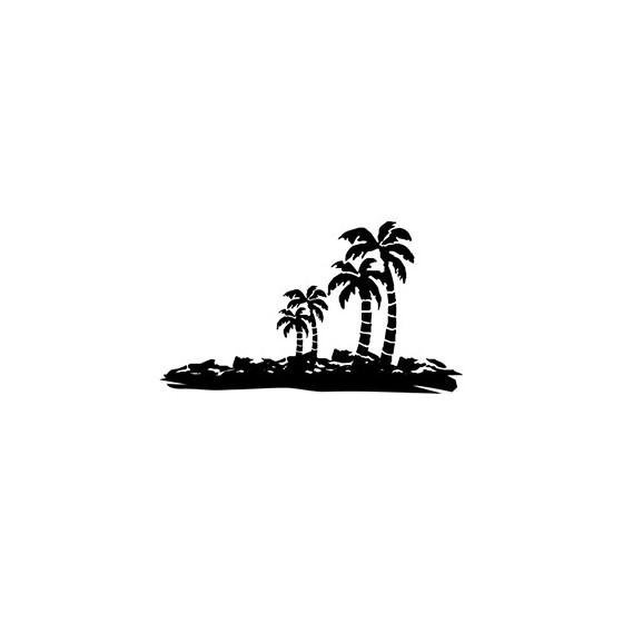 Island Die Cut Vinyl Decal