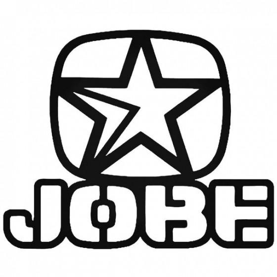 Jobe Stencil Surfing Decal...