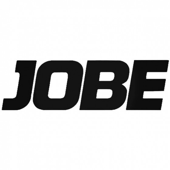 Jobe Text Surfing Decal...