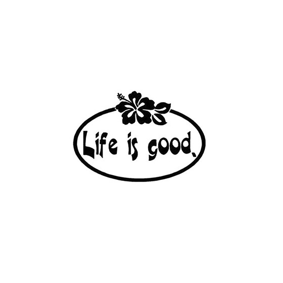 Life Is Good Die Cut Vinyl...