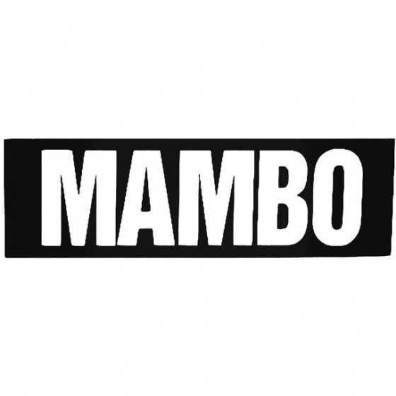 Mambo Text Block Surfing...