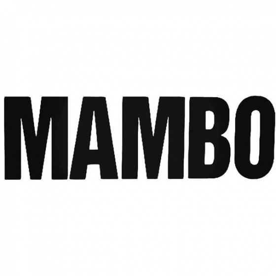 Mambo Text Bold Surfing...